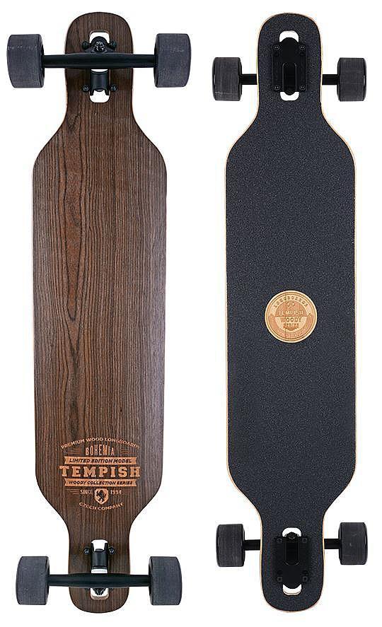 longboard Tempish Bohemia II - Brown 8.3x37.8
