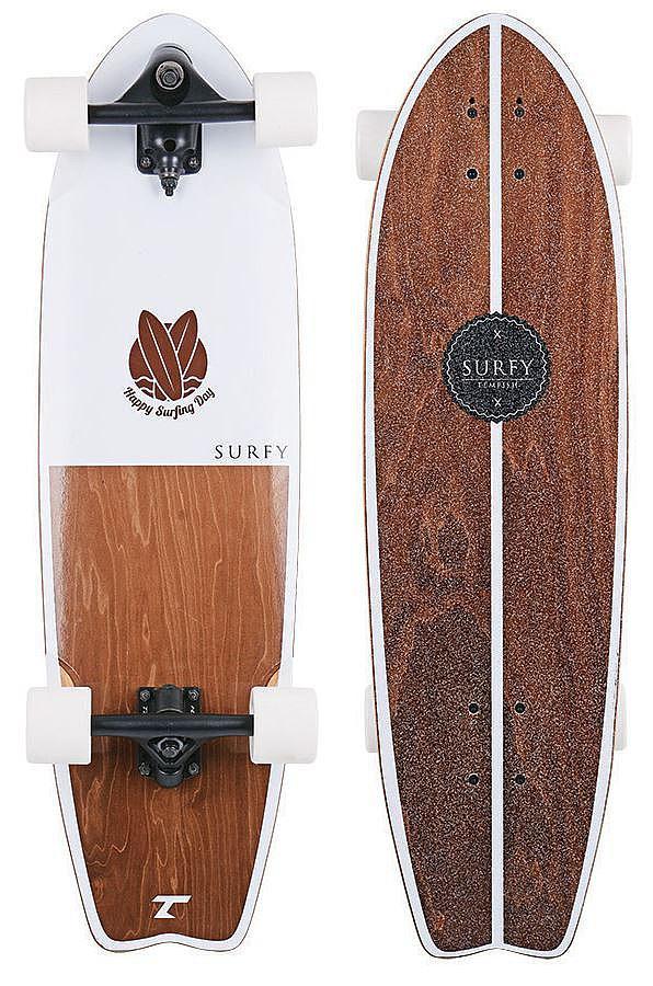 longboard Tempish Surfy II - White/Brown 9.3x32.5