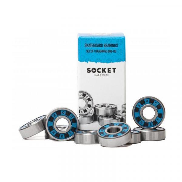 SK8 LOŽISKA SOCKET 608-RS - modrá