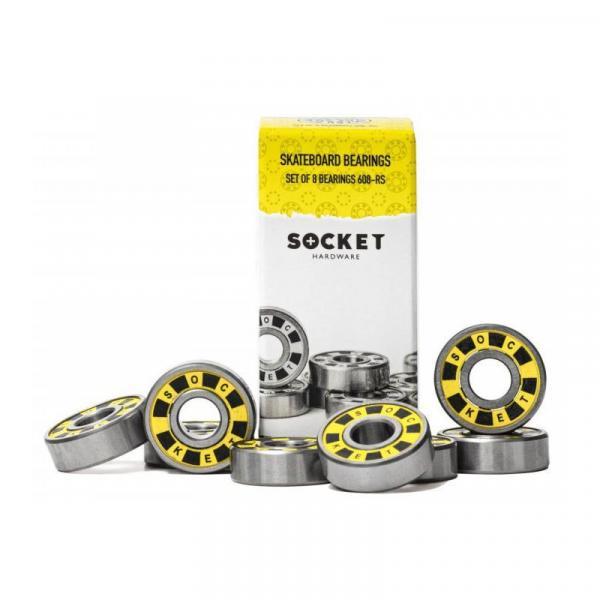 SK8 LOŽISKA SOCKET 608-RS - žlutá