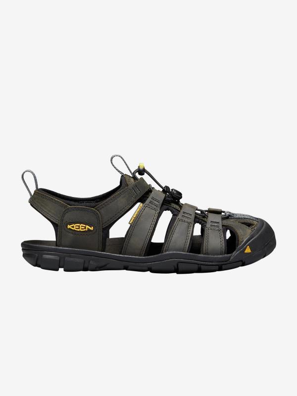 Sandály Keen Clearwater Cnx Leather M Magnet/Black Us Černá