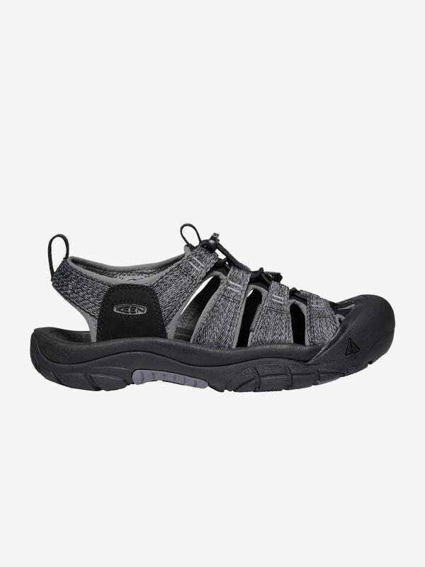 Sandály Keen Newport H2 M Black/Steel Grey Us Černá