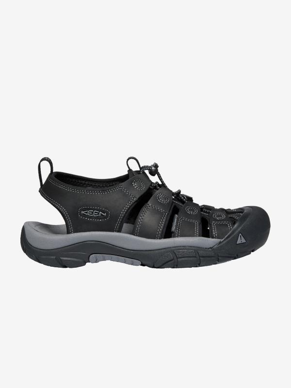 Sandály Keen Newport M Black/Steel Grey Us Černá