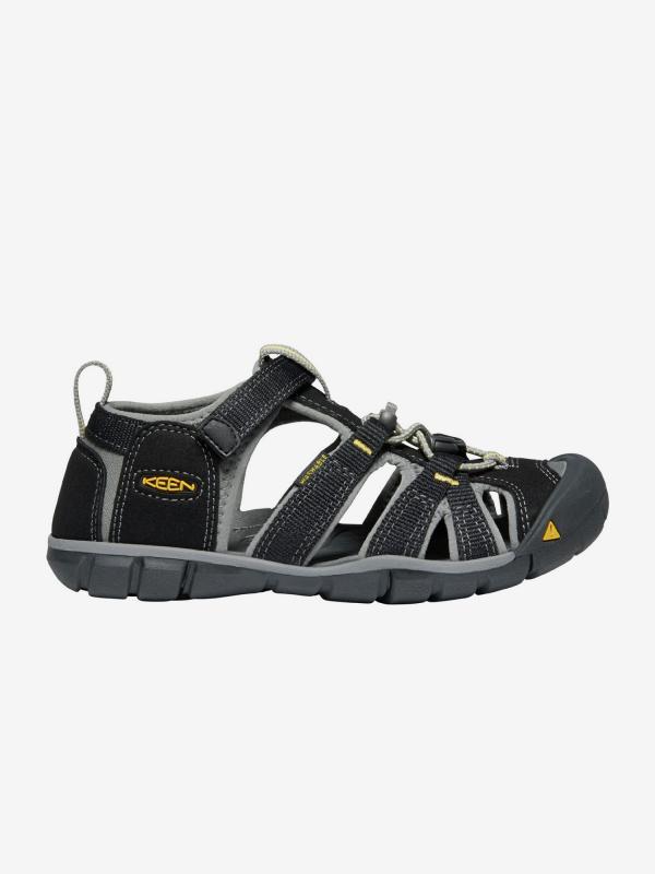 Sandály Keen Seacamp Ii Cnx Jr. Black/Yellow Us Černá