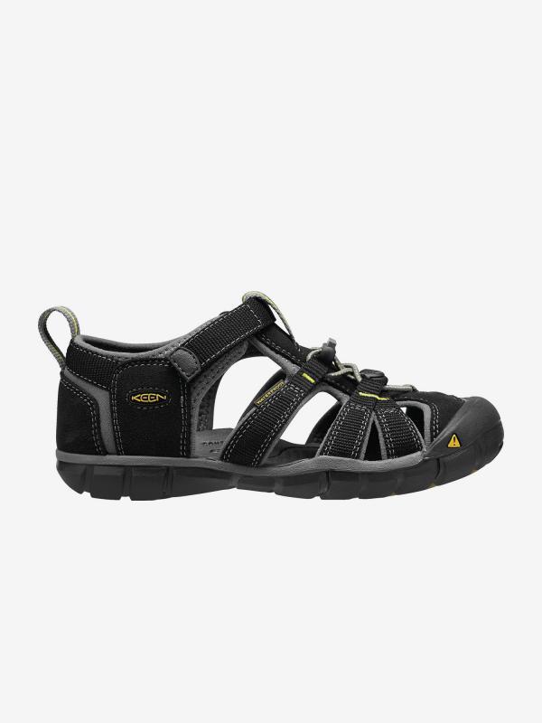 Sandály Keen Seacamp Ii Cnx K Black/Yellow us Černá