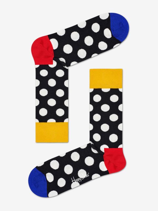 Ponožky Happy Socks Big Dot Sock Barevná