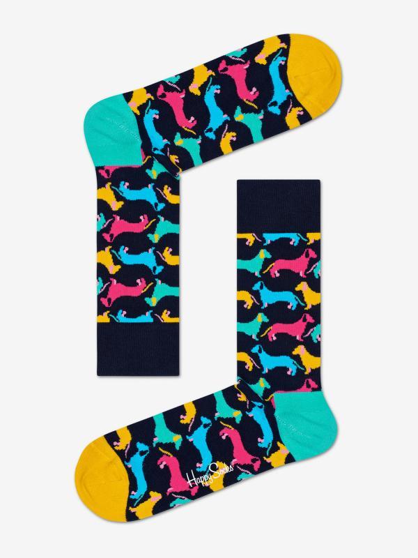 Ponožky Happy Socks Dog Sock Barevná