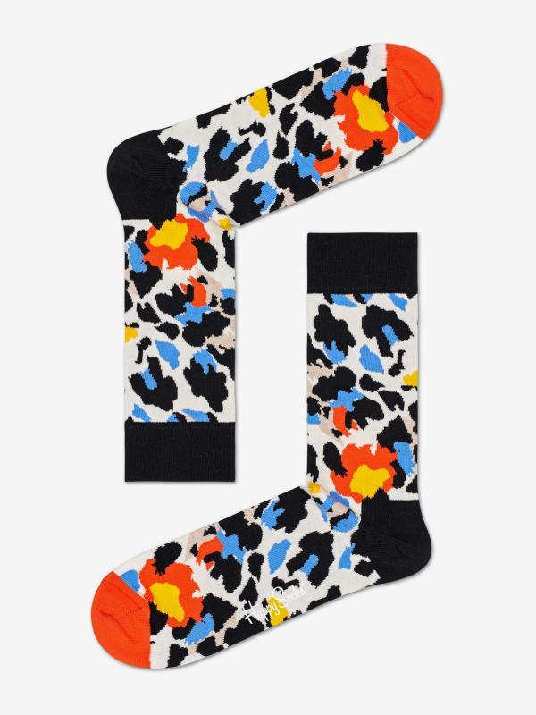 Ponožky Happy Socks Leopard Sock Barevná