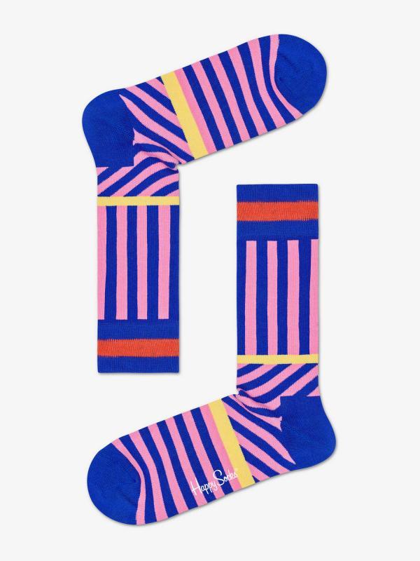 Ponožky Happy Socks Stripes And Stripes Sock Barevná