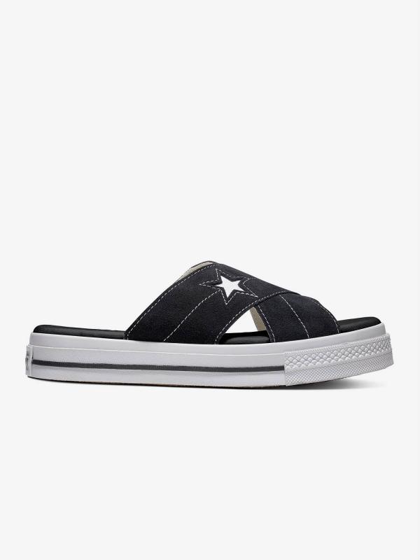 Pantofle Converse One Star Sandal Černá