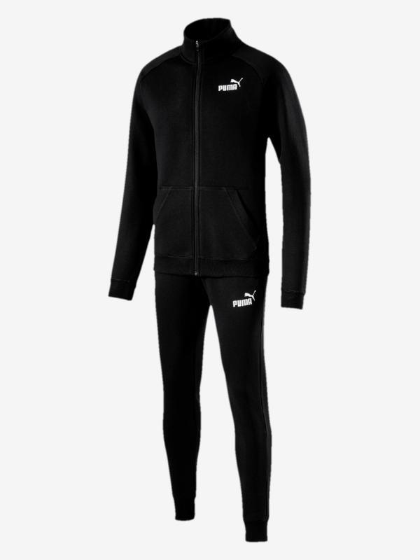 Souprava Puma Clean Sweat Suit Cl Černá