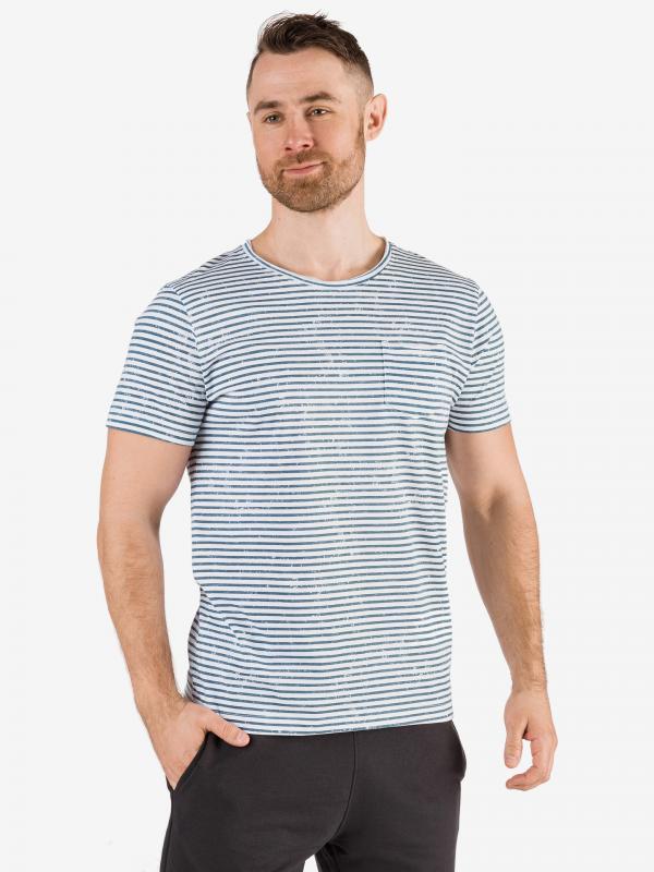 Tričko SAM 73 MTSR522669SM Modrá