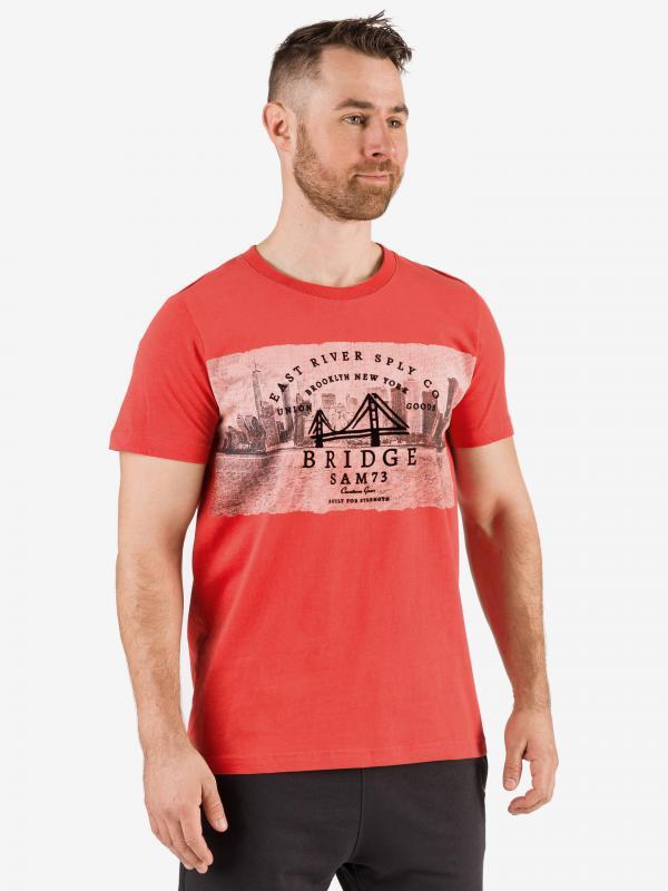 Tričko SAM 73 MTSR541475SM Červená