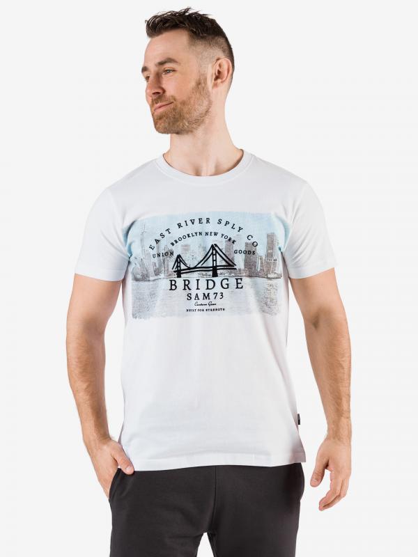 Tričko SAM 73 MTSR541000SM Bílá