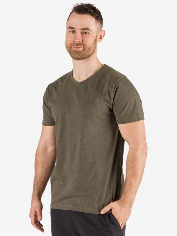 Tričko SAM 73 MTSR524549SM Hnědá