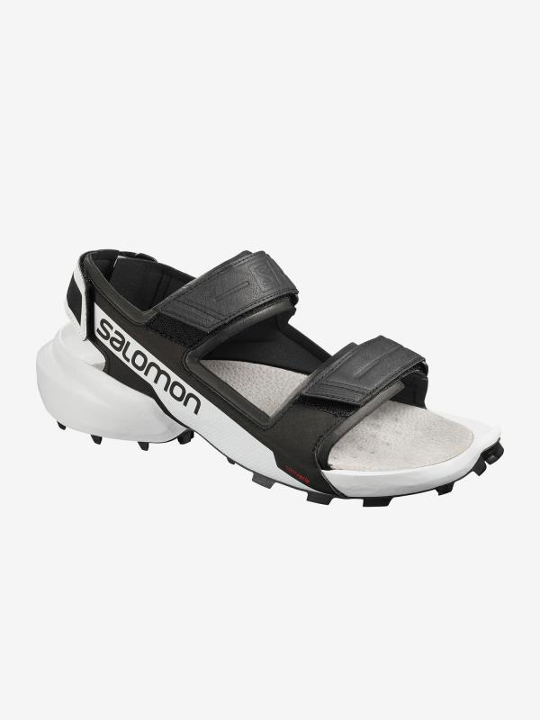 Sandály Salomon Speedcross Sandal Black/White/Black Černá