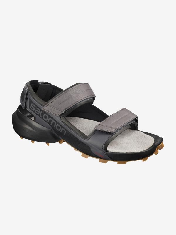 Sandály Salomon Speedcross Sandal Magnet/Black/Bk Šedá