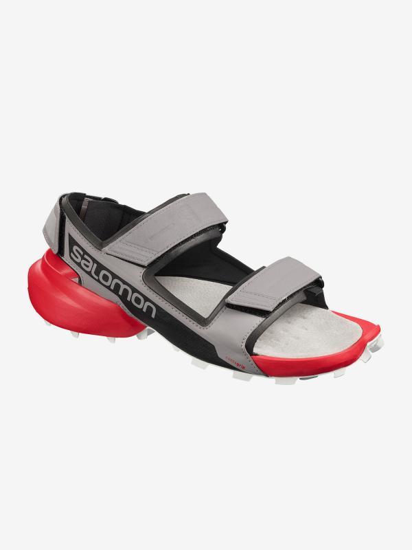 Sandály Salomon Speedcross Sandal Alloy/Bk/High Rise Šedá