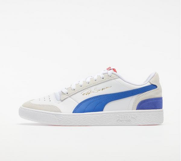 Puma Ralph Sampson Lo Vintage Puma White-Dazzling Blue
