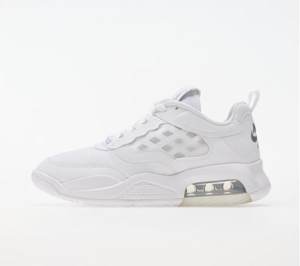 Jordan Max 200 White/ Metallic Silver