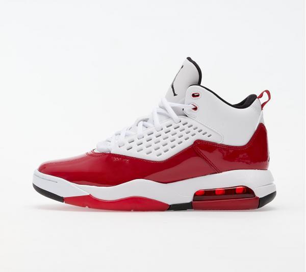 Jordan Maxin 200 White/ Black-Gym Red