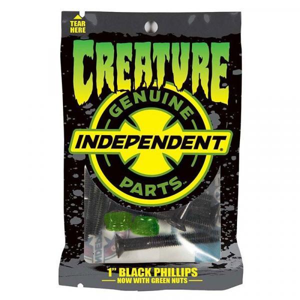 SK8 ŠROUBKY CREATURE CPFU Phillips 12/8 - černá