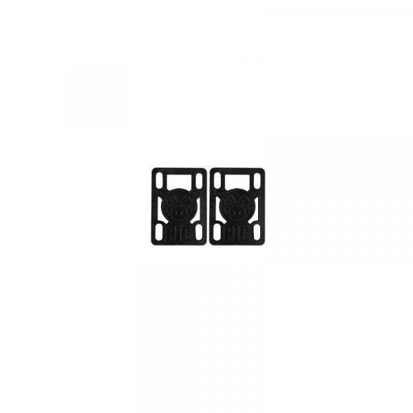 SK8 PODLOŽKY PIG WHEELS Pileses 1/8in HD - černá