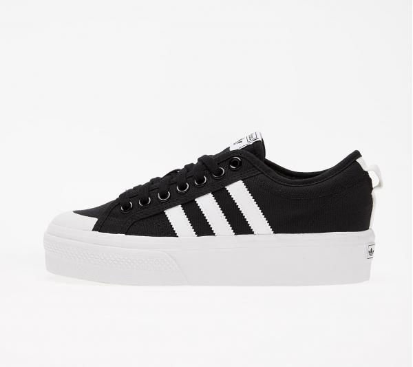 adidas Nizza Platform W Core Black/ Ftw White/ Ftw White