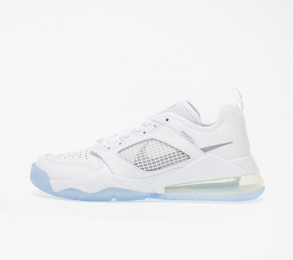 Jordan Mars 270 Low White/ Metallic Silver-White