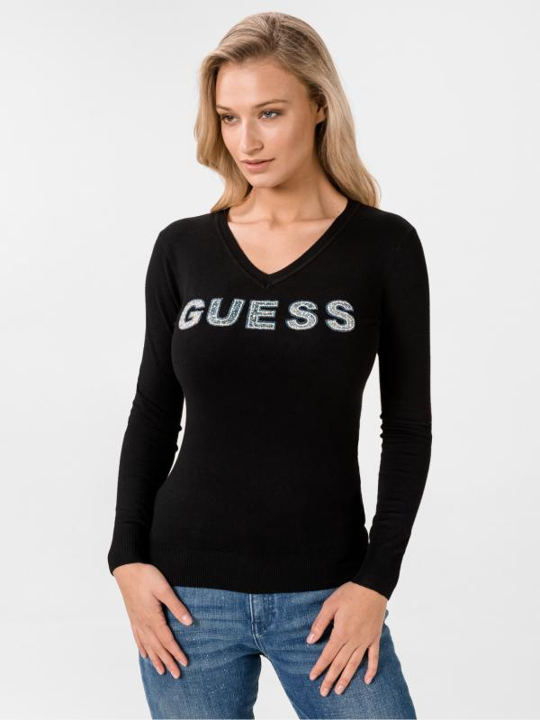 Megan Svetr Guess Černá
