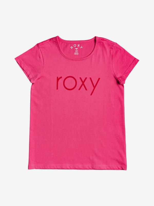 Triko dětské Roxy Růžová