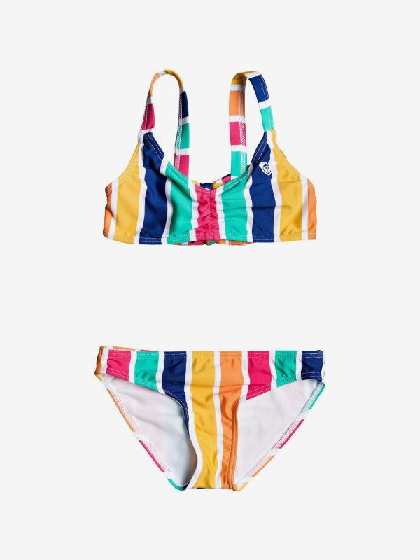 Maui Shade Dvoudílné plavky dětské Roxy Barevná