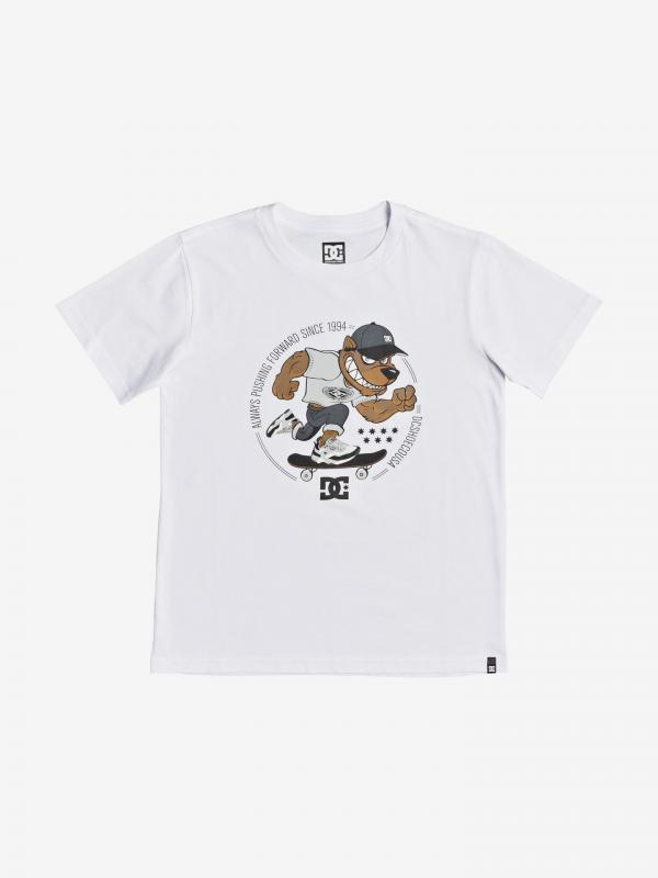 Pitbowl Triko dětská DC Bílá