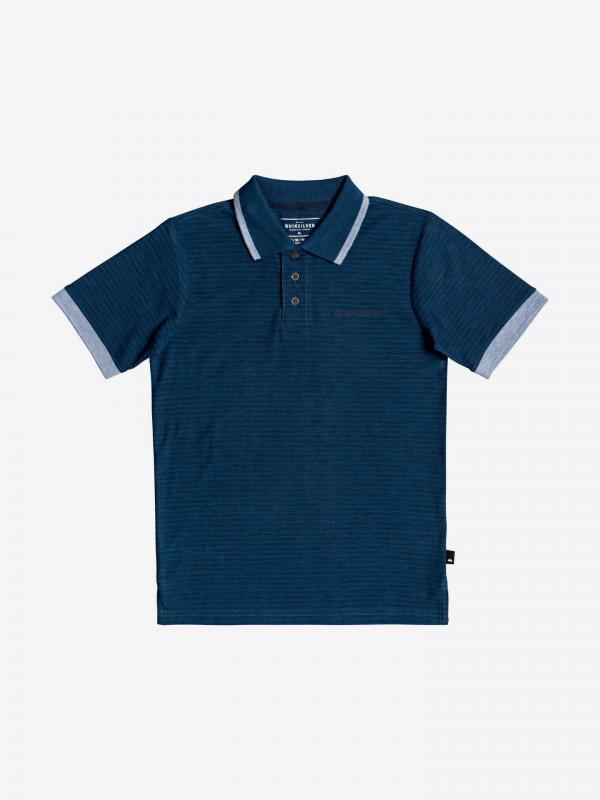 Kentin Polo triko dětské Quiksilver Modrá