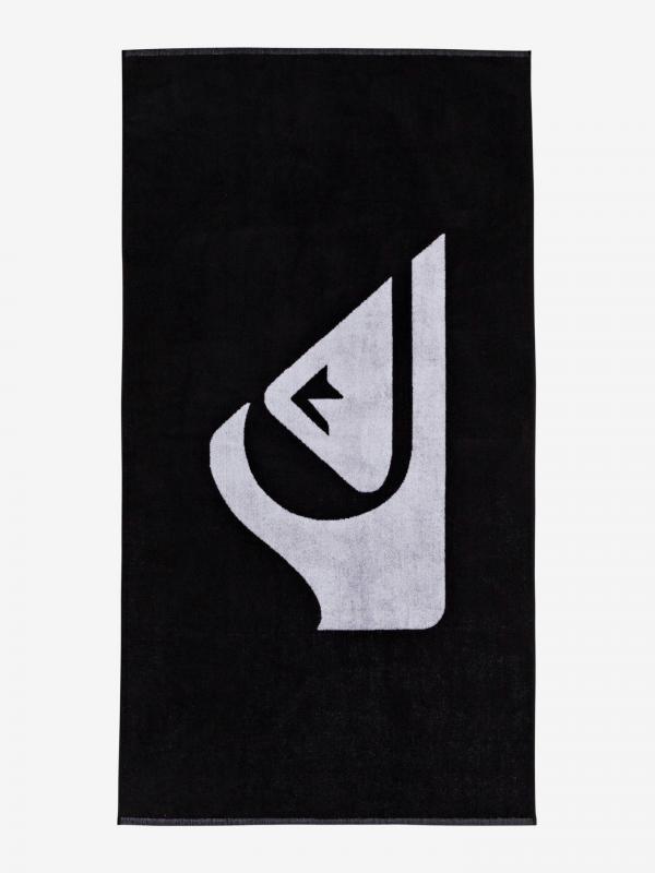 Woven Logo Osuška Quiksilver Černá