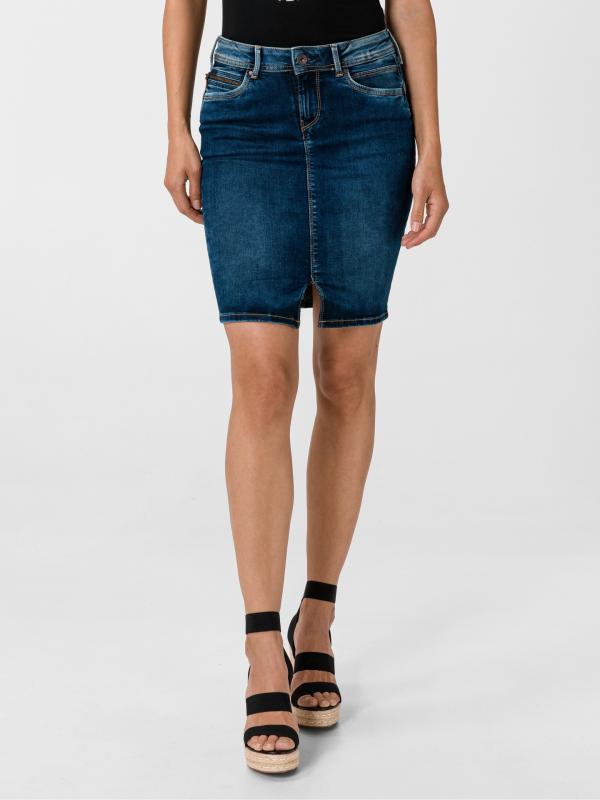 Taylor Sukně Pepe Jeans Modrá