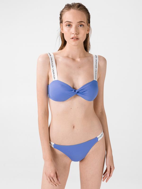 Vrchní díl plavek Calvin Klein Modrá