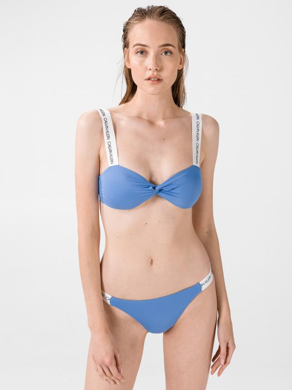 Spodní díl plavek Calvin Klein Modrá