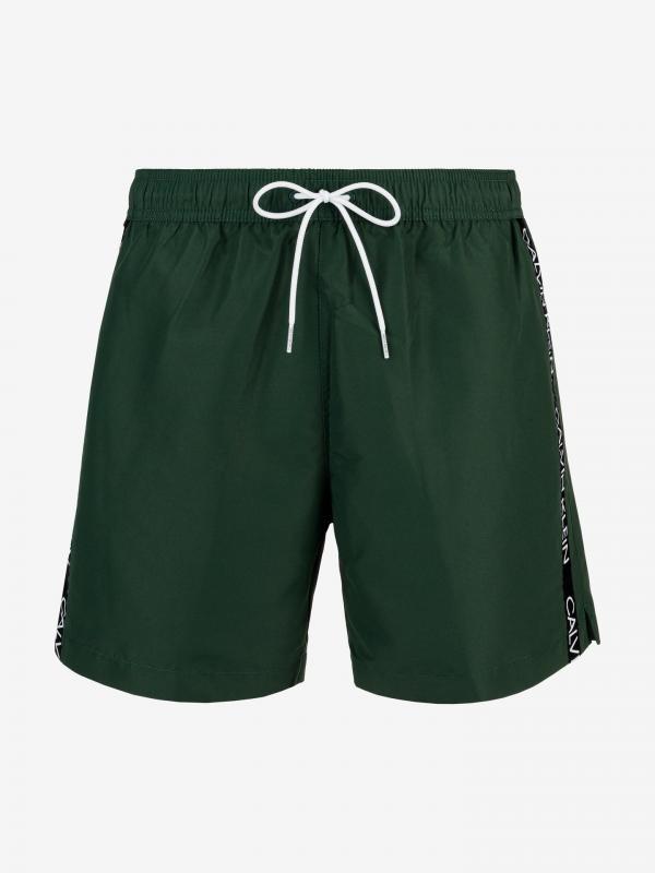 Plavky Calvin Klein Zelená