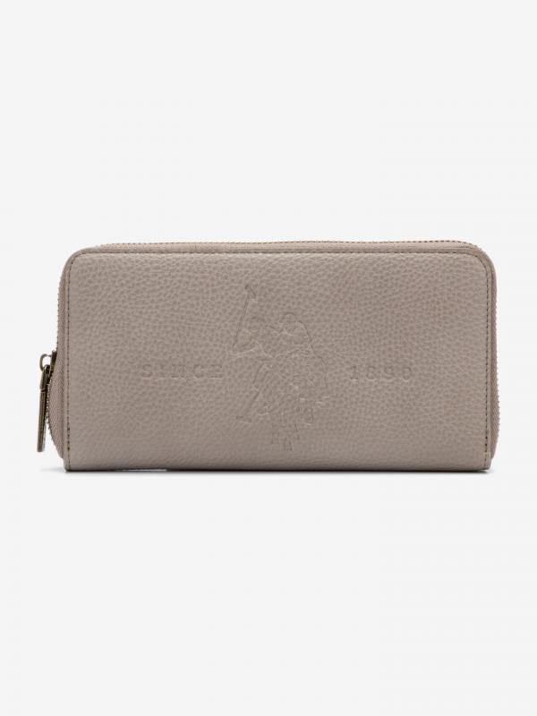 Crestwood Large Peněženka U.S. Polo Assn Šedá