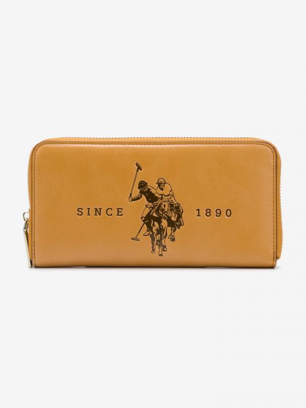Folsom Large Peněženka U.S. Polo Assn Béžová