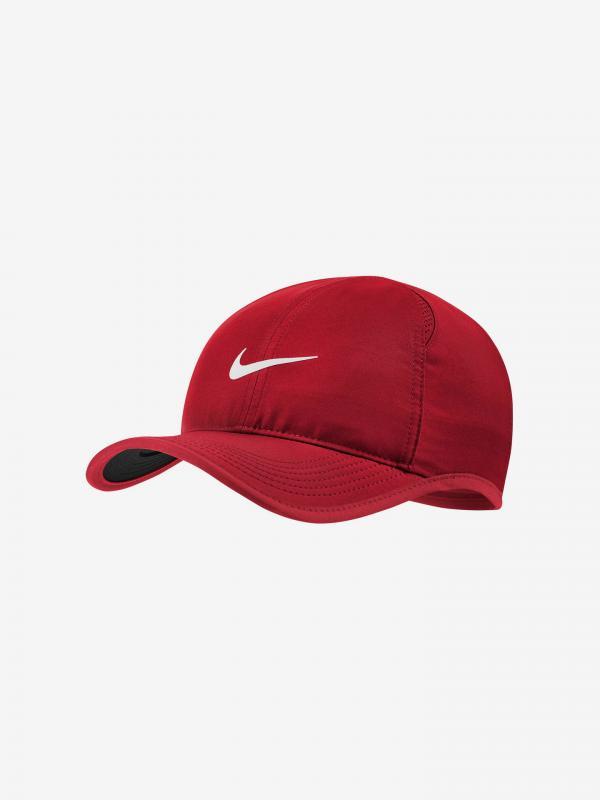 Aerobill Featherlite Kšiltovka Nike Červená