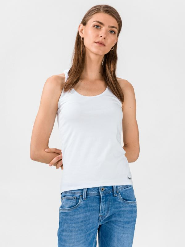 Vanaya Tílko Pepe Jeans Bílá