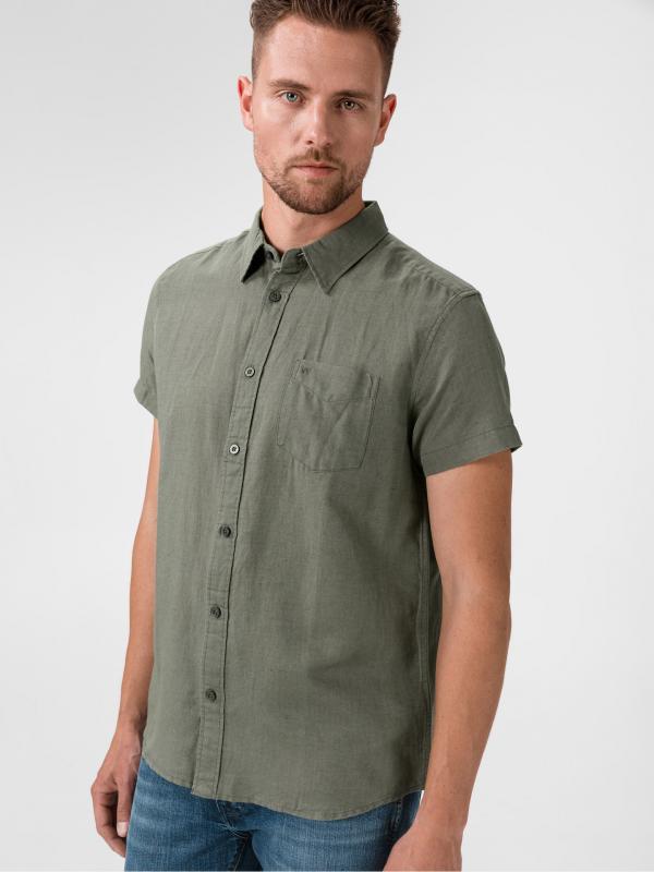 Košile Wrangler Zelená