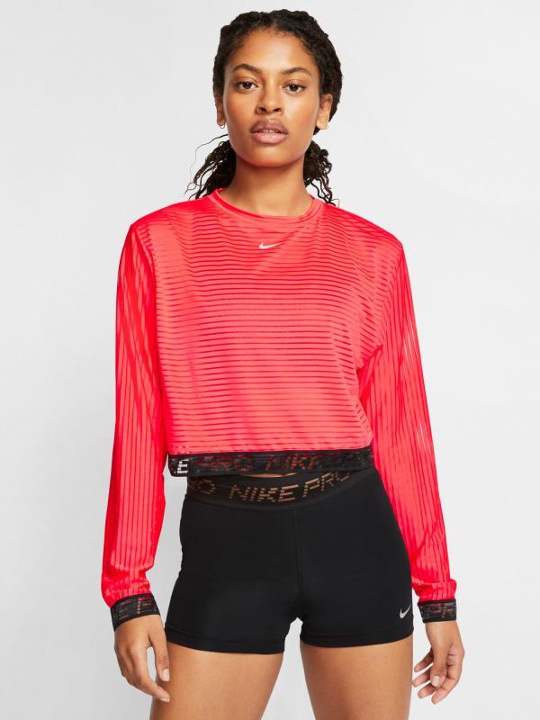 Nike Pro Triko Nike Červená