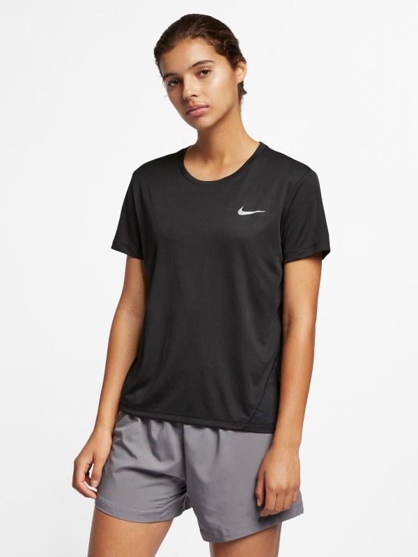 Miler Triko Nike Černá