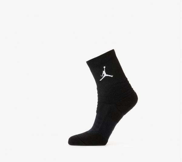 Jordan Flight Ankle Socks Black/ White