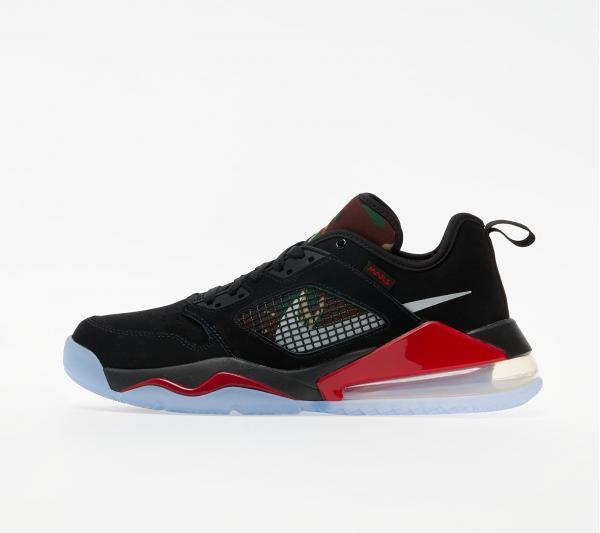 Jordan Mars 270 Low Black/ Metallic Silver-Gym Red