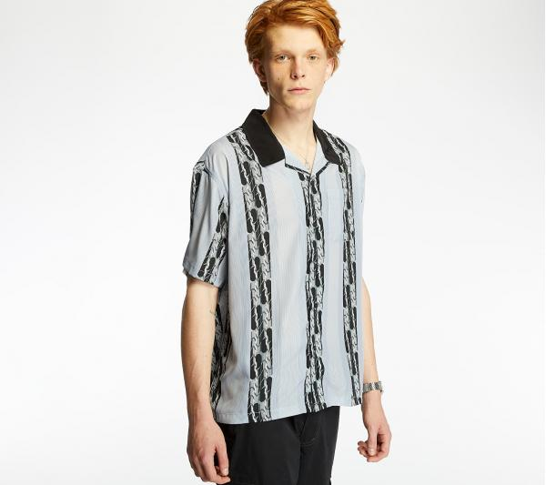 Stüssy Deco Striped Shirt Light Blue