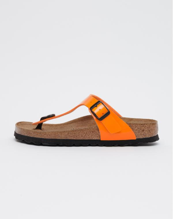 Birkenstock Gizeh BF Patent Marygold 36